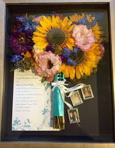 We preserve wedding flowers. Leigh Florist will preserve your wedding bouquet and create a work of art. Dried Sunflowers, Wedding Bouquets, Wedding Flowers, Custom Shadow Box, Wedding Gifts, Wedding Ideas, Sunflower Bouquets, Preserved Roses, Wedding Memorial