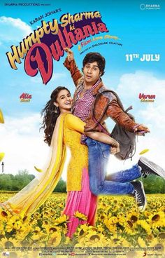 Varun Dhawan and Alia Bhatt starrer 'Humpty Sharma Ki Dulhaniya' poster. #Bollywood #Movies