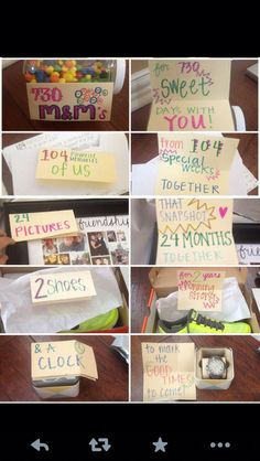 Great idea...just need to figure out how to make it work for other anniversary years.