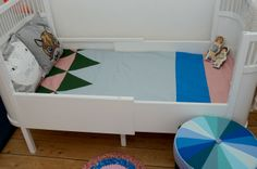 Juniortæppe - næsten uden patchwork og trekanter