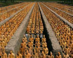 Armée de terre cuite de l'empereur Qin - Xi'an, Chine
