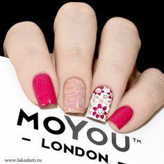 Top 30 Trending Nail Art Designs And Ideas - Nail Polish Addicted Love Nails, Fun Nails, Pretty Nails, Fabulous Nails, Perfect Nails, Nagel Stamping, London Nails, Stylish Nails, Manicure And Pedicure