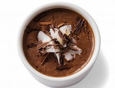 Chocolate-coconut Chia Seed Pudding.