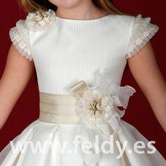 Frocks For Girls, Kids Frocks, Little Girl Dresses, Girls Dresses, Flower Girl Dresses, Girls Communion Dresses, Baby Girl Dress Patterns, Pageant Dresses, Frock Design