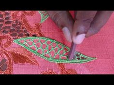 How to do Cutwork Embroidery using a Mosquito Coil - Crochet Symbols Hand Embroidery Videos, Cutwork Embroidery, Embroidery Works, Embroidery Hoop Art, Hand Embroidery Designs, Embroidery Stitches, Embroidery Patterns, Cutwork Saree, Tambour Beading