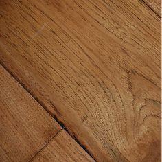 "Johnson Hardwood English Pub 7-1/2"" Engineered Hickory Flooring in Pilsner"