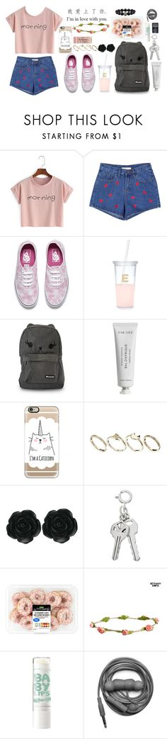"""""""Good morning xx"""" by ritamartinho69 ❤ liked on Polyvore featuring Vans, Kate Spade, Loungefly, Byredo, Casetify, ASOS, Dollydagger, Aéropostale, xO Design and Urbanears"""