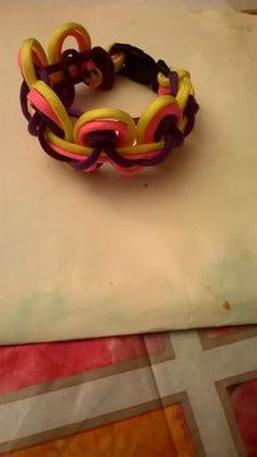 regenboog paracord armband