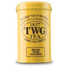 TWG Tea Royal Thai Oolong Tea: Loving the entire tea selection at Dean & DeLuca