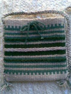Weaving - Szőttes kistarisznya - Weaved bag - Zentai Anna - www.zentaianna.hu