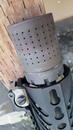 FERFRANS CRD Modular Muzzle Brake Review Ar Pistol Build, Ar Build, Ar Parts, Rifle Accessories, 9mm Pistol, Shooting Range, Military Guns, Survival Gear, Tactical Gear