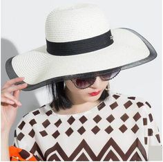 Splicing mesh sun hat for women wide brim UV protection hats
