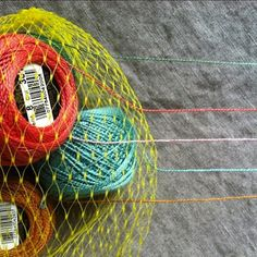 Threadkeeper -- What a GREAT idea for folks who need to keep several yarns/threads in use simultaneously.
