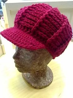 Cute, but let me know if you find this with a pattern in English. Bonnet Crochet, Crochet Gloves, Crochet Scarves, Crochet Shawl, Crochet Yarn, Crochet Stitches, Easy Crochet Patterns, Knitting Patterns Free, Crochet Hat With Brim