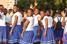 Tamale Senior High School in Tamale, Ghana
