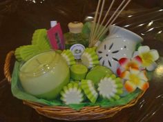 Heavenly Scent Candles Mothers Day basket...
