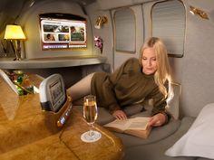 First Class | Kabinenausstattung | Emirates Österreich