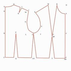 Pattern drafting 101: drafting a basic bodice block