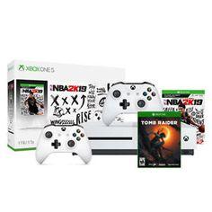 Xbox One S 1Tb NBA 2K19 Bundle and Samsung HW-M360 2 1