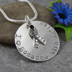 Hand Stamped Jewelry  Autism  Autism by DesignsbyDaniella on Etsy