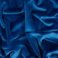 c3db3f227ed Royal Blue Stretch Velour Velour Fabric, Mood Fabrics, Fabric Online, Knitted  Fabric,