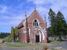 An abandoned chapel in the Maitland Cemetery, Cape Town