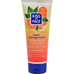 Kiss My Face Styling Gel - Upper Management - 6 Fl Oz