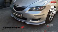 Mazda 3 BK Lenzdesign Bodykit & Spoilers 2003 2004 2005 2006 2007 2008 2009 Mazda 3 2005, Mazda 3 Sedan, Carbon Fiber, Kit, Cars, Ideas, Autos, Car, Automobile