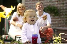 Amalia and her parents