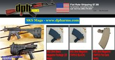 Why run everywhere for SKS Mags when you can get them all online at DPH Arms; the one stop shop for all your armory and ammunitions.Visit https://dpharms.com/.