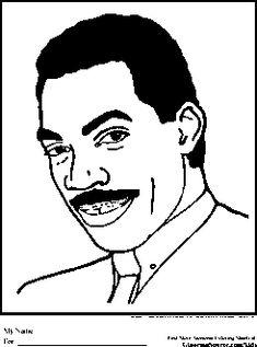 Freekids blackhistory duke ellington coloring pages black Duke Ellington Parents Billie Holiday Coloring Pages Jay Z Coloring Page