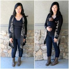 """""""It's a shirt... it's a baby pouch... no wait, it's a @lalabubaby soothe shirt! New mamas, you need to get one!"""""""