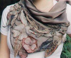 flores & # 8230; de tela