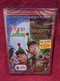 Prep & Landing/Naughty vs. Nice dvd set