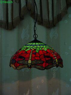 Dragonfly Tiffany Lamp  16S4-267P11