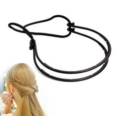[Visit to Buy] Plastic Loop Styling Tools Black Topsy Pony topsy Tail Clip Hair Braid Maker Styling Tool Fashion Salon RP1 #Advertisement