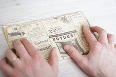 Kodin Kuvalehti – Blogit | Ruususuu ja Huvikumpu – Tee itse sanomalehdistä istutuspotti. Kasvata istutuspotissa rairuoho pääsiäiseksi ja taimet kesäksi.