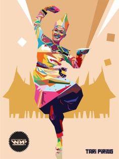Colors of Indonesia - Tari Piring by vinartvin