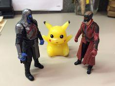 Pikachu judging the dance-off