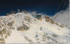 Zugspitze - Germany Sky Ride, Ski Lift, Mount Everest, Skiing, Germany, Mountains, Photo And Video, World, Travel
