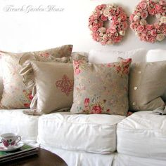 be still my heart....C.B.I.D. HOME DECOR and DESIGN: HOME DECOR: SLIPCOVER MAGIC - REFRESHING FURNITURE