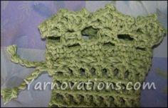 free crochet pattern: soap/ potpourri /cell phone/ gift card sachet