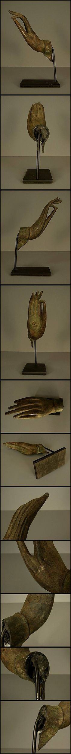 発掘 青銅仏手/ガンダーラシルクロード中国チベット仏教美術(J8) - ヤフオク!