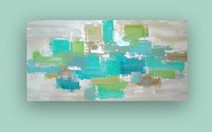 RESERVED Original Acrylic Abstract Painting Titled by orabirenbaum, $225.00