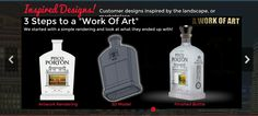 3 steps to designing you custom liquor Bottle   Built in China