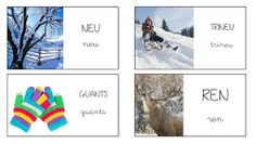 Catalan Language, School, Winter, Ideas, Seasons Of The Year, Speech Language Therapy, Initials, Reading