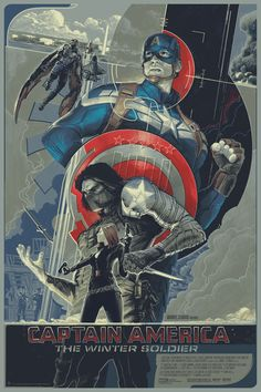 Captain America: The Winter Solider - Mondo Poster by Rich Kelly