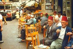 An archival photo of old Beirut, on this leisurely Sunday.