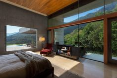 Techo,ventanas Architects