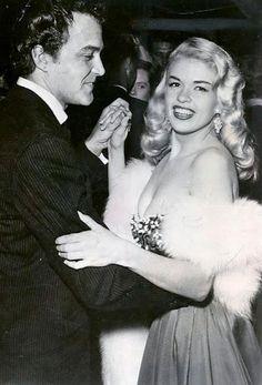 Lance Fuller & Jayne Mansfield having a dance, 1950s.
